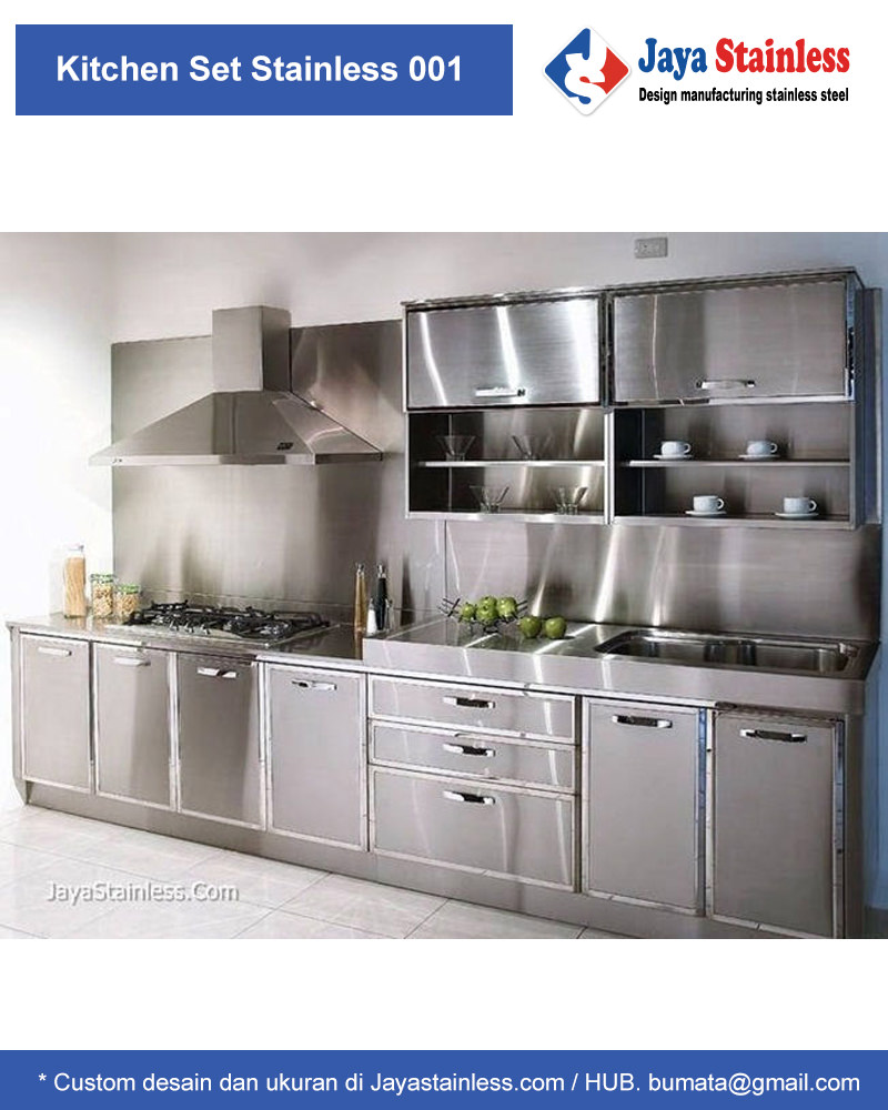 Kitchen set stainless 001 add to wishlist loading