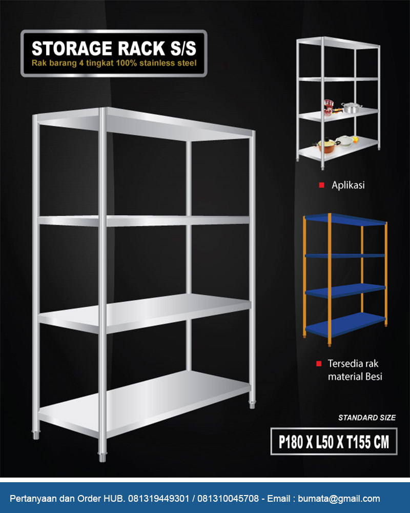 Storage Rack Board Type Js Series Rak Penyimpanan Permanen  # Muebles Dor Pibo