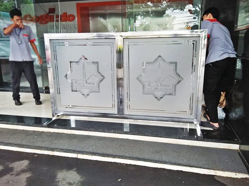 Pembatas Masjid pesanan PT. Cogindo