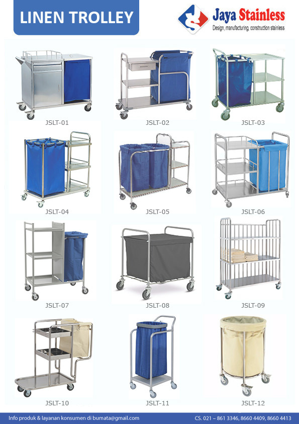 Katalog Linen Trolley JAYASTAINLESS