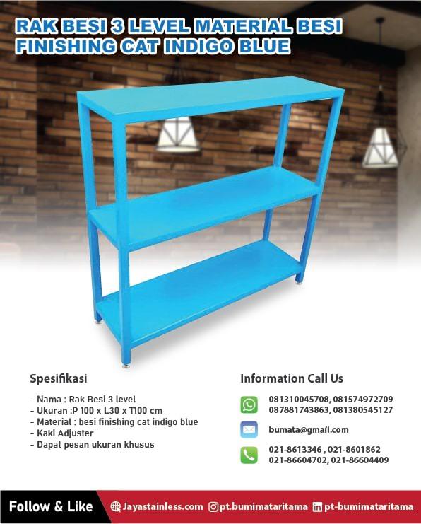 Jual dan Produksi Rak besi – stainless ukuran custom