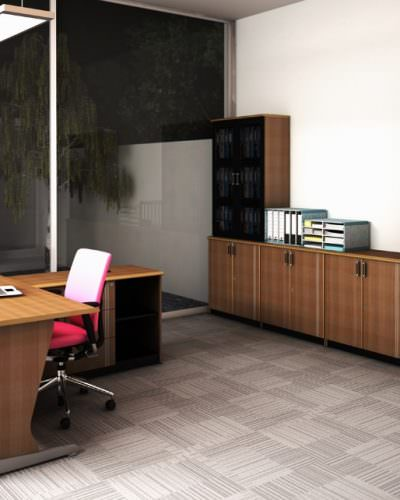 Uno office system lavender series 1