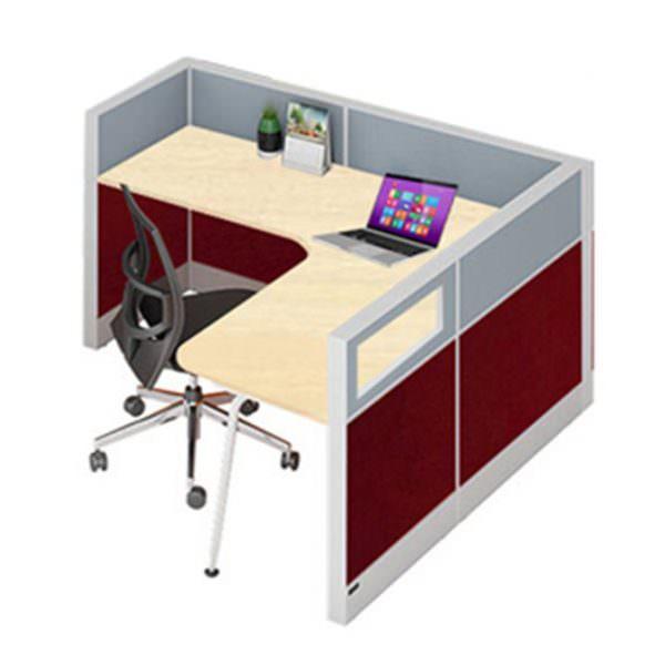 Meja kerja partisi kantor 1 unit murah