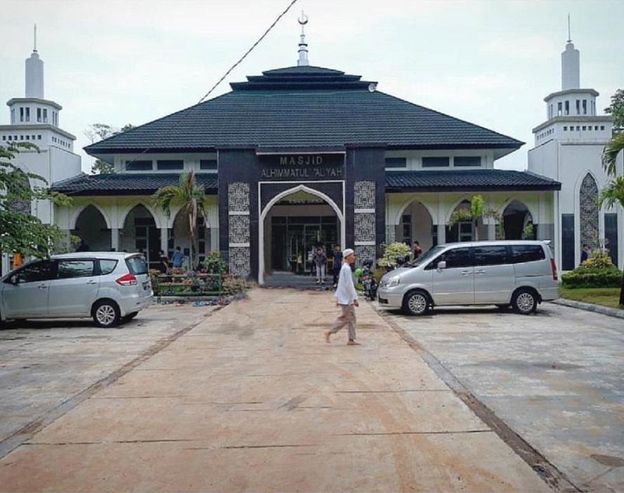 Masjid Alhimatul Aliyah, Pesantren Madinatul Qur'an Jonggol-Jawa Barat