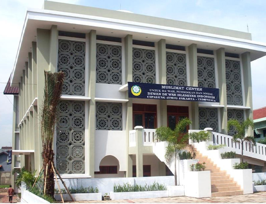 Masjid Naurah Dewan Dakwah Indonesia, Cipayung - Jakarta