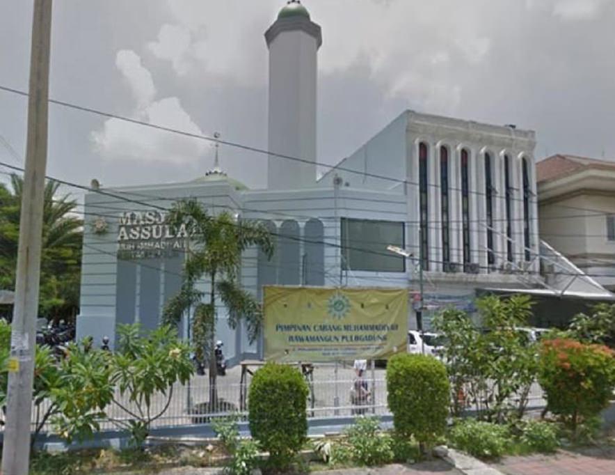 Masjid As Sudairi, Muhammadiyah, Rawamangun, Jakarta