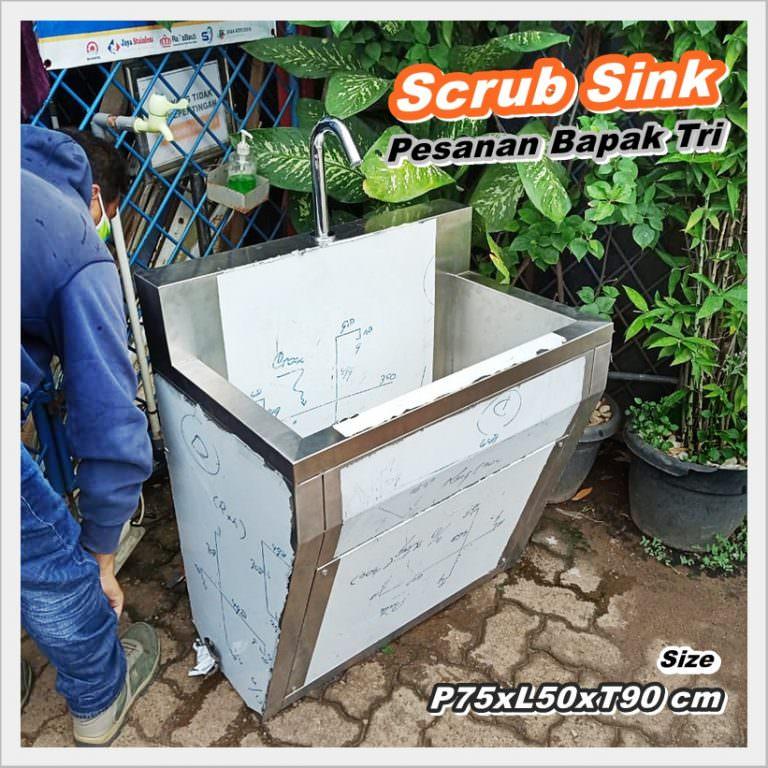 Scrub Sink Keran Sensor