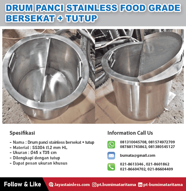 Drum Stainless