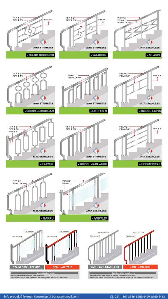 Katalog Railing Tangga Stainless j JAYASTAINLESS-min