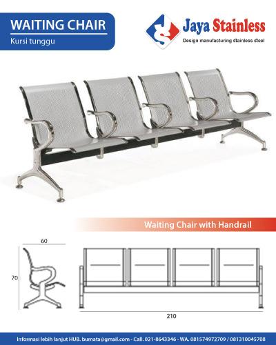 Waiting Chair - Kursi Ruang Tunggu