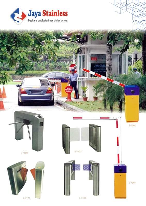 Swing Gate dan Folding Gate System