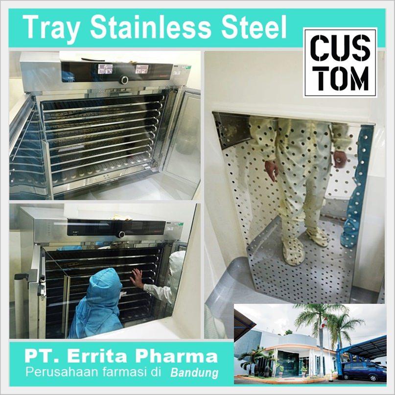 Tray stainless steel custom
